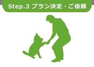 Step.3 プラン決定・ご依頼